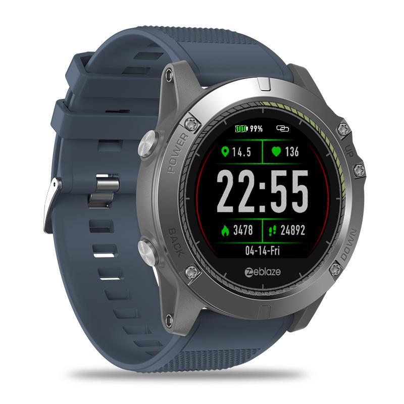 New Zeblaze Vibe 3 Hr Smartwatch Ip67 Waterproof Wearable Device