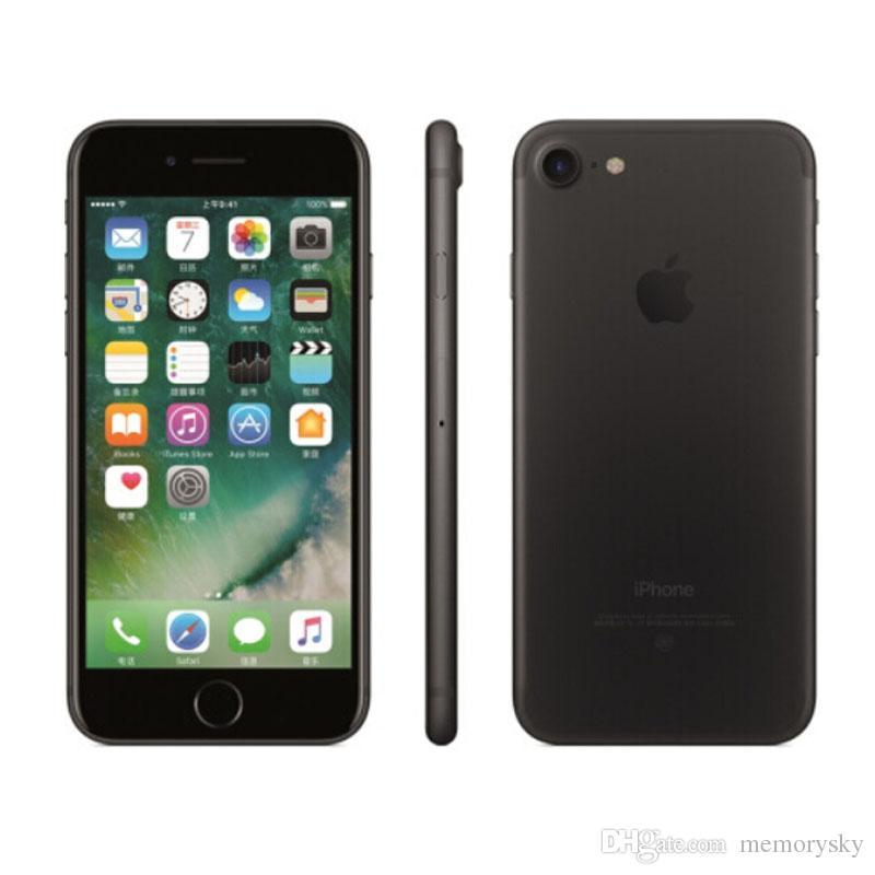 8be0af60b06 Modelos De Telefonos Original Restaurado Apple IPhone 7 Iphone7 Quad Core  4.7 Pulgadas 2GB RAM 32GB ROM IOS 12MP Huella Digital 4G LTE Desbloqueado  Teléfono ...