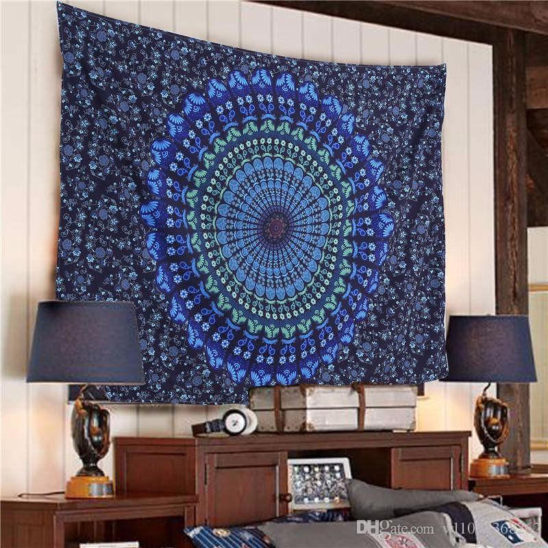 58.27x78.74inch Home Decor Bohemian Tapestry Mandala Hanging Wall ...