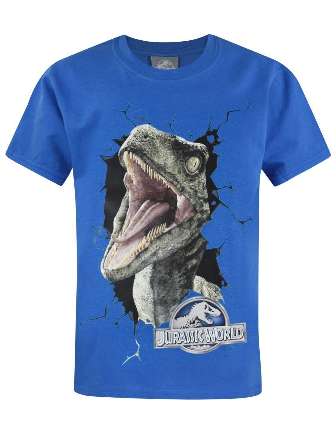 8dae6311 Official Jurassic World Raptor Kid'S T Shirt Brand Cotton Men Clothing Male  Slim Fit T Shirt Crazy T Shirts T Shirt Prints From Shitan8, $11.78|  DHgate.Com
