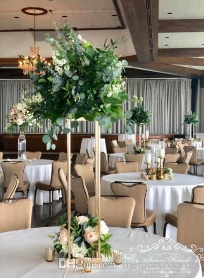 Acheter Plancher Vase En Metal Fleur Vase Colonnes Allee Pilier