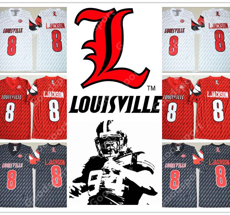 2019 NEW NCAA Louisville Lamar Jackson 8 College STITCHED JERSEY FOOTBALL  SPORT MEN FASHION HOT SALE GIFT CHEAP CHRISTMAS DAY TOP CHEAP From  Goodbuysport 5dfc04970