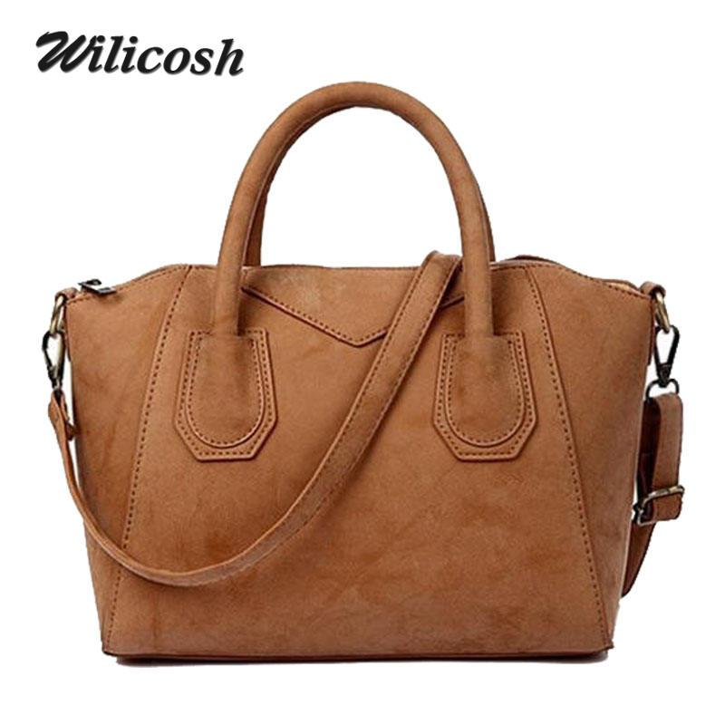 2016 Fashion Bags for Women Handbags Nubuck Women s Tote Bag Female ... 12f936dcc1d8f