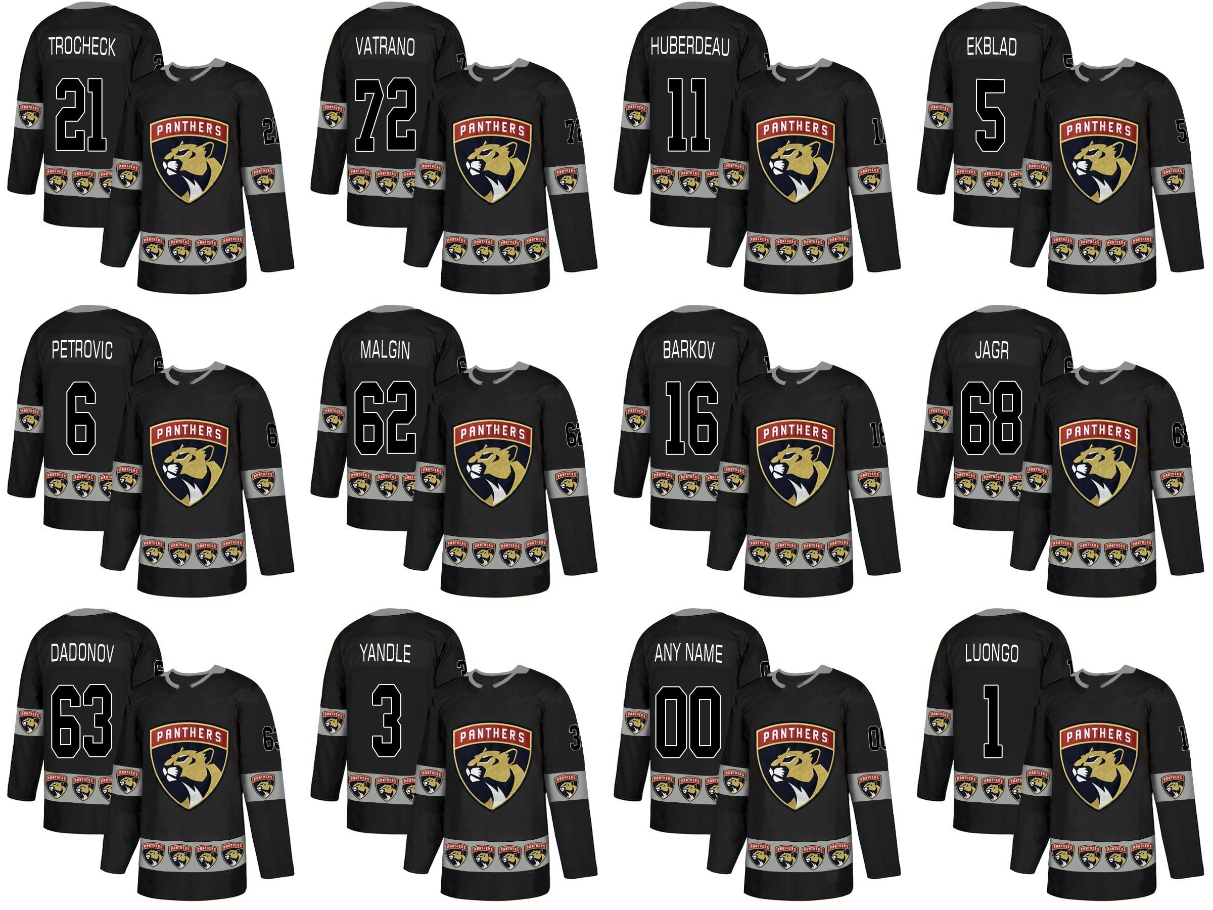 e99be6ef6 Florida Panthers Aaron Ekblad Aleksander Barkov Vincent Trocheck Roberto  Luongo Mark Pysyk Denis Malgin Fashion Team Logos Hockey Jerseys Hockey  Jerseys ...