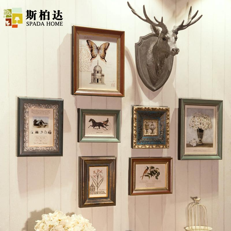 2018 Vintage Photo Frames For Picture Modern Wall Photo Frames ...