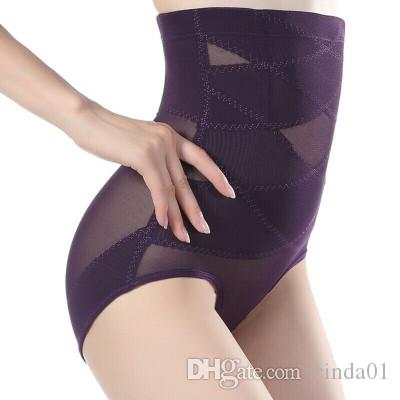 Female High Waist Abdomen Underwear Female Body Shaper Pants Lift Hip Pants Control Bundle Pants