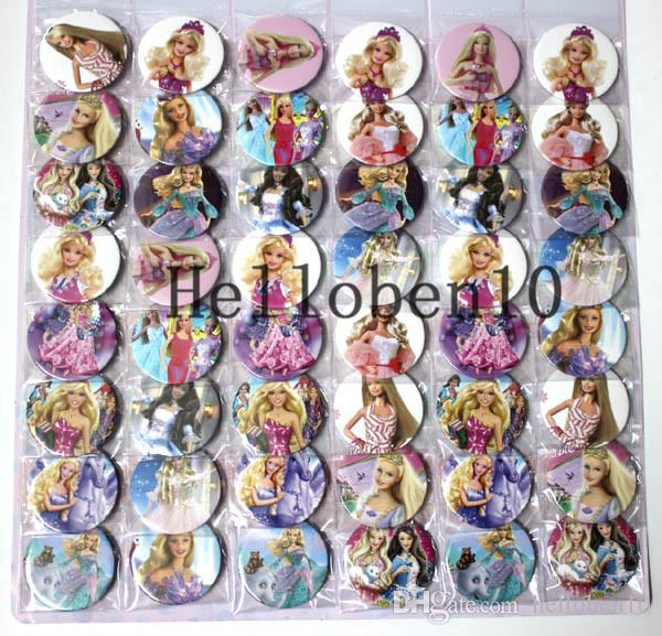 "48 ""Baby Princess"" badges. It is made up of many different 'Baby'. The diameter is 4.5cm, and they can be worn on the chest."