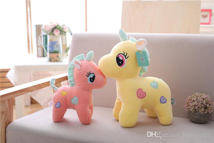 Puffer cotton software unicorn doll plush toy doll customized grab machine doll