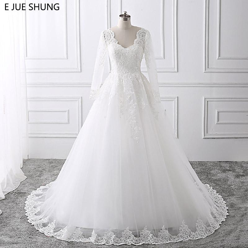 Discount Wholesale White Lace Appliques Backless Cheap Wedding ...