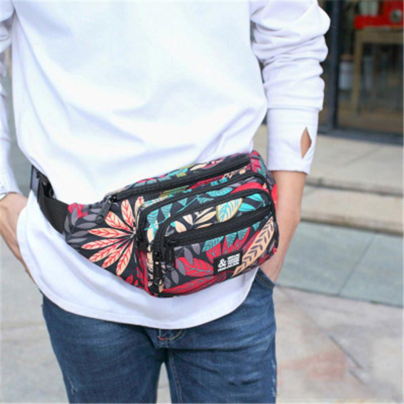d323d80b65d Laamei Women Waist Packs Fashion Printed Funny Pack Belt Bag Printed Phone Pouch  Bag Travel Waist Pack Small Canvas Handbags Fanny Pack From Camelino