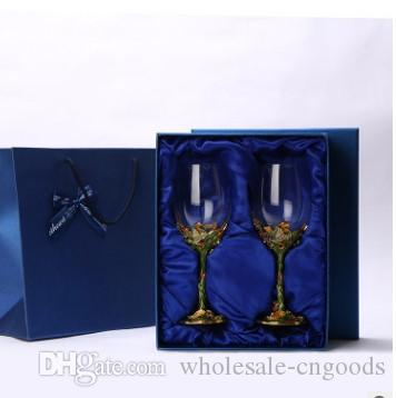 new lead-free crystal wine wine wine glass stylish highball set
