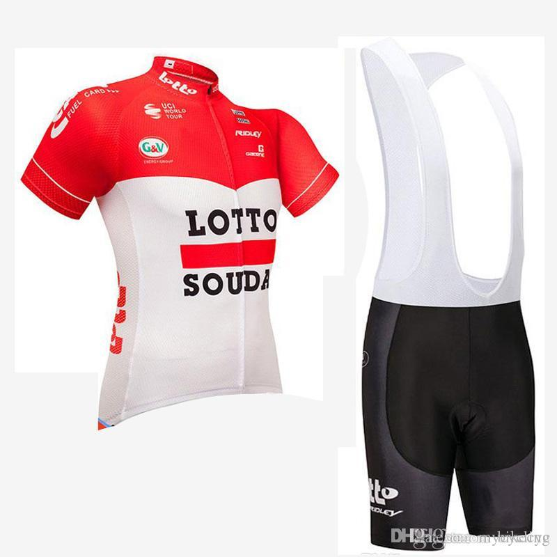 LOTTO MAVIC Team Cycling Short Sleeves Jersey Bib Shorts Sets New Arrival  Bikes High Quality Fashion Summer Clothing Ropa Ciclismo C1705 LOTTO Cycling  ... b800a9724
