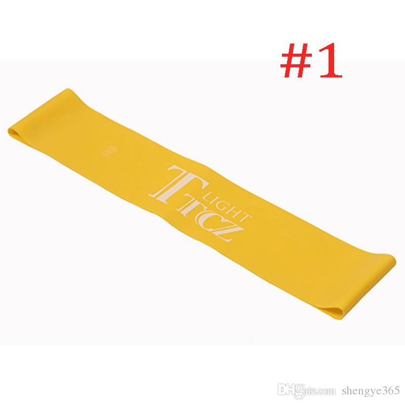 Gummiband Spannung Widerstand Band Übung Workout Ruber Loop Crossfit Kraft Pilates Training Expander Fitnessgeräte