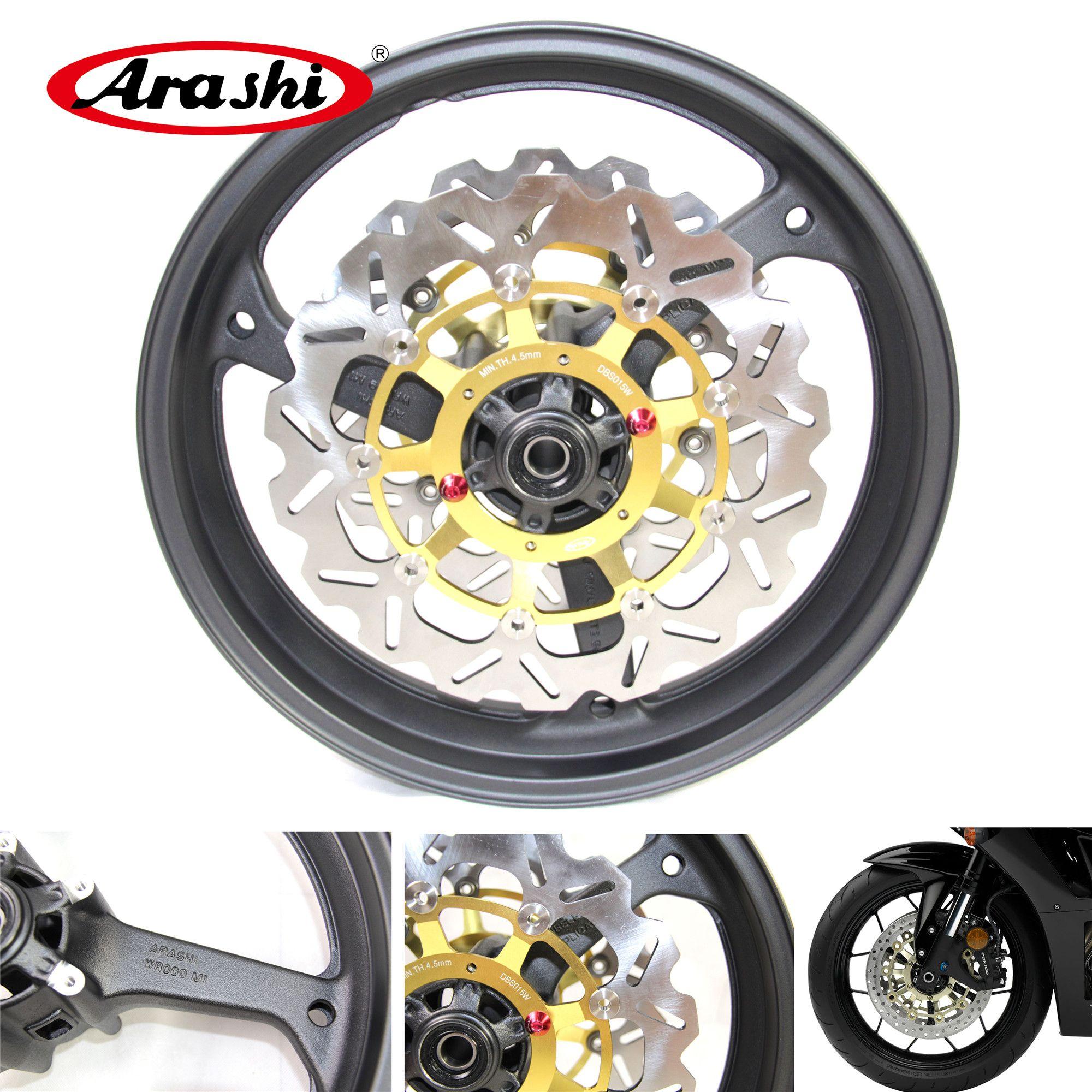 2019 Arashi For Honda Cbr600rr 2007 2015 Front Wheel Rim Brake Disc
