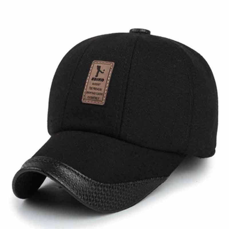 JTVOVO Available Earflaps Baseball Cap Men Winter Hat Male Warm Snapback  Hats Adjustable Nylon Baseball Hats Wholesale Starter Cap Big Hats From  Melontwo 5623fe5e449