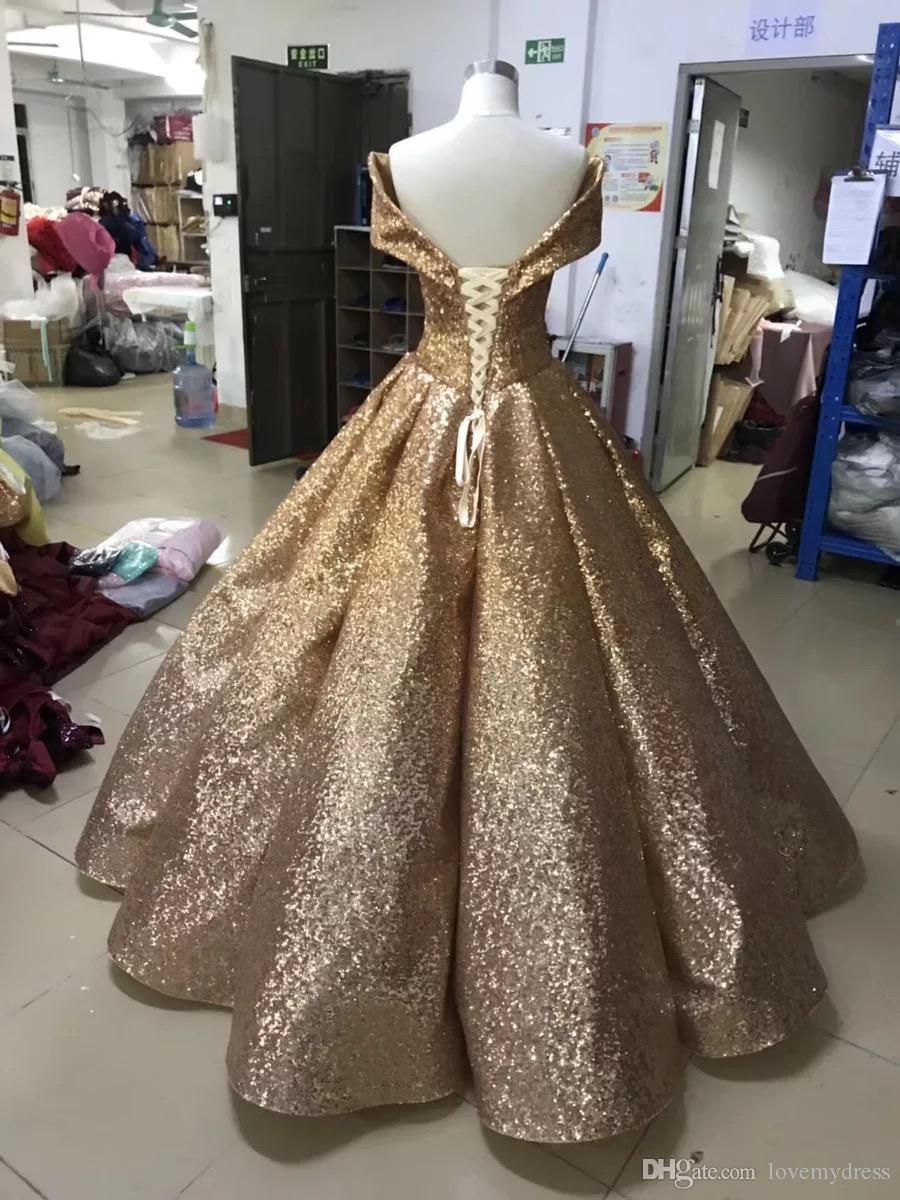 Mor Payetli Gelinlik Modelleri Uzun Degrade 2021 Ucuz V Boyun Kapalı Omuzlar Kısa Kollu Balo Korse Geri Ombre Quinceanera Akşam elbise