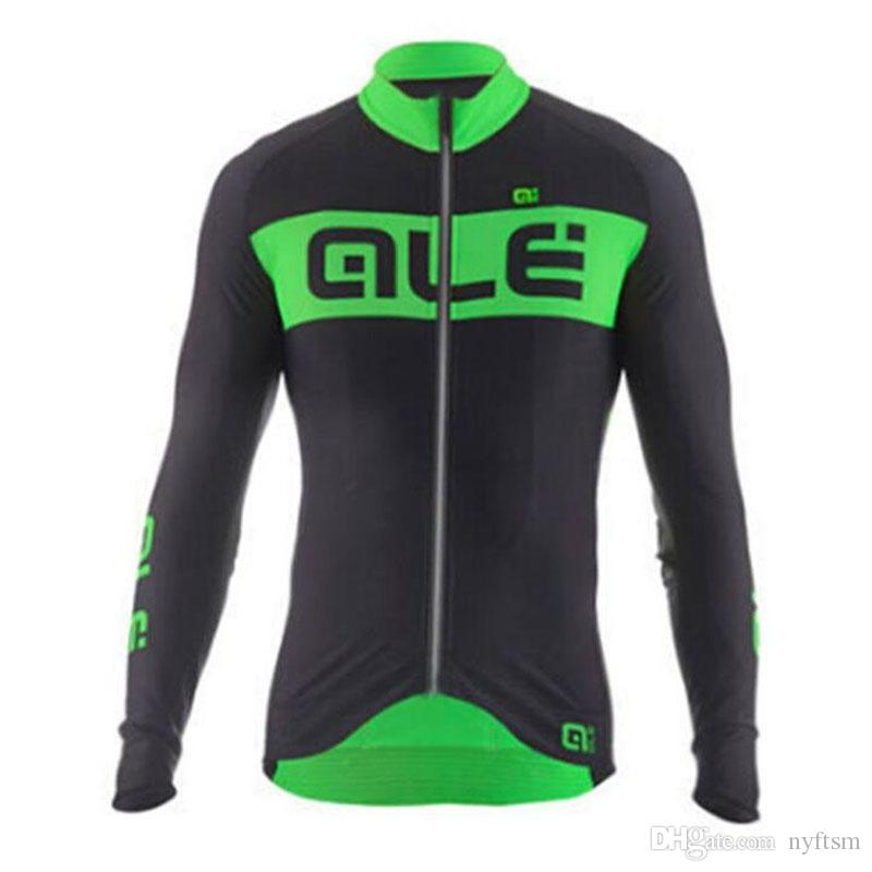 Men's Long Sleeve Cycling Jerseys Pro Fit Road Bike MTB Top Long Sleeve Jersey Spring Autumn Cycling Clothings