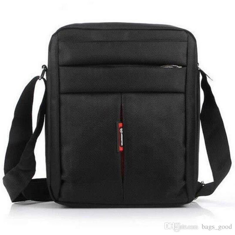 High Quality Mens Bag Casual Man Business Messenger Oxford Shoulder Bags Travel Black Brown Crossbody Flap