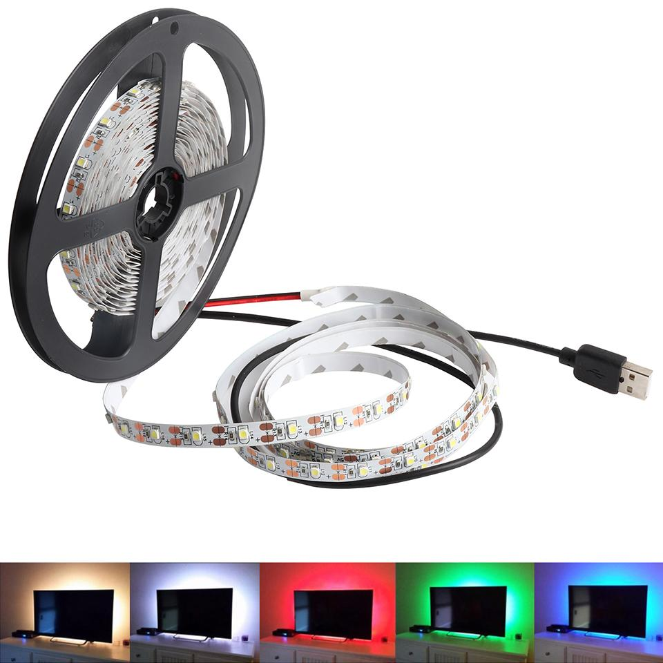 Dimmable led strip 5v usb led strip light for tv backgroud backlight dimmable led strip 5v usb led strip light for tv backgroud backlight 1m 2m 3m 4m 5m smd3528 ribbon rope light 5 v warm white il led flexible strip lights aloadofball Image collections