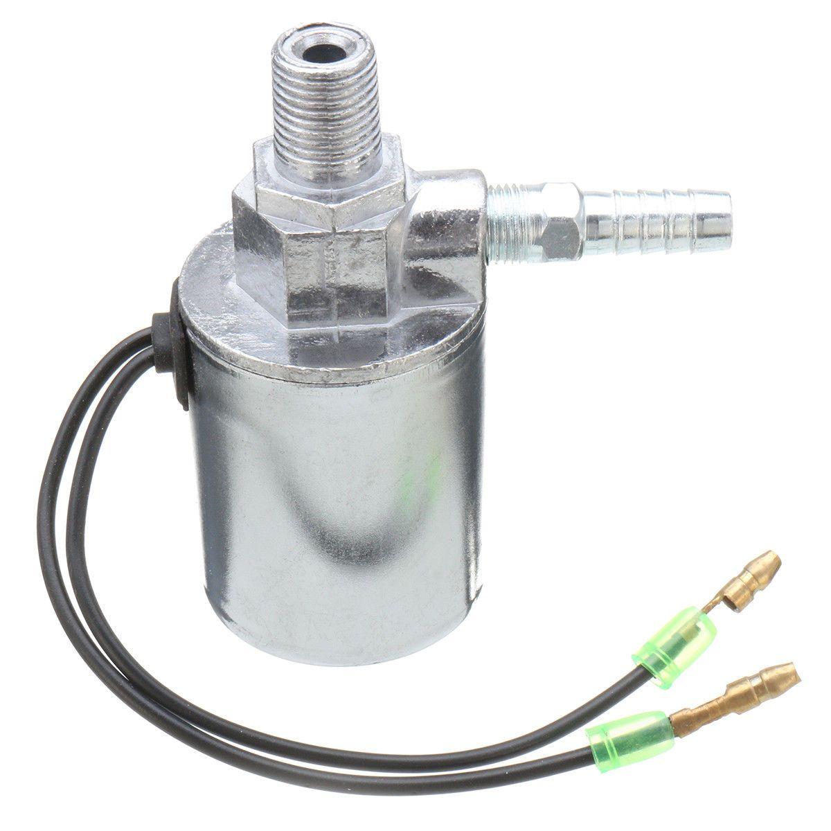 Válvula electromagnética eléctrica de cuerno del aire del camión del tren de 12V 24V resistente 1/4