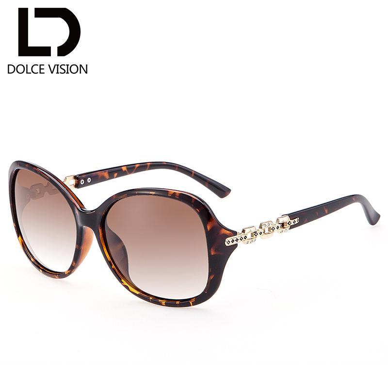 014c27eedbe01 Compre DOLCE VISÃO Senhoras Luxo Borboleta Óculos De Sol Mulheres Strass  Esculpidas Tons De Design De Moda Feminina Óculos Polarizados 2018 De ...