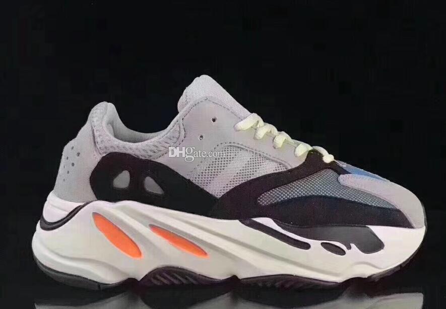 Adidas yeezy 700 boost v2 yeeZapatos para niños Wave Runner 700 Kanye West Zapatillas para correr Niños Niñas Entrenador Zapatilla de deporte 700