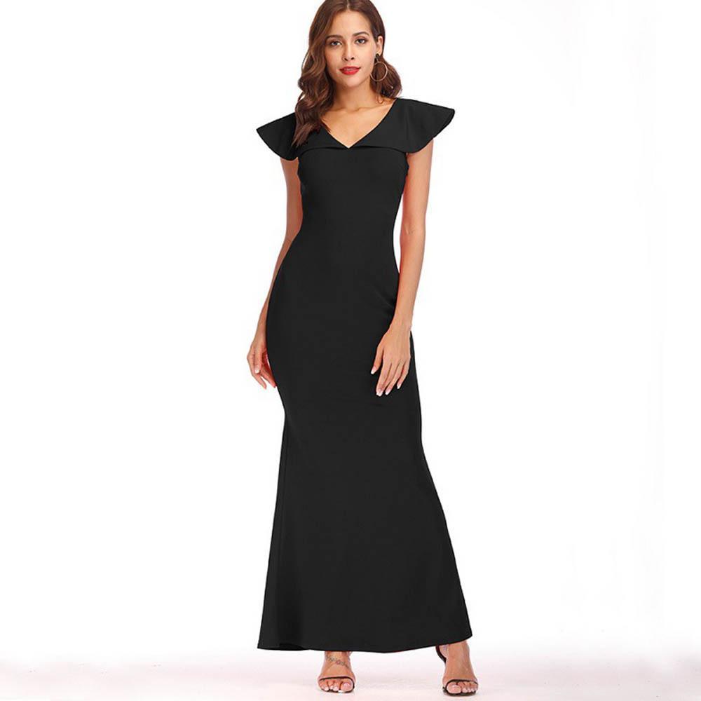 2c89ed824c5 Großhandel Frauen Reizvolles Kleid 2018 Sommer Nixe Hot V Ausschnitt ...