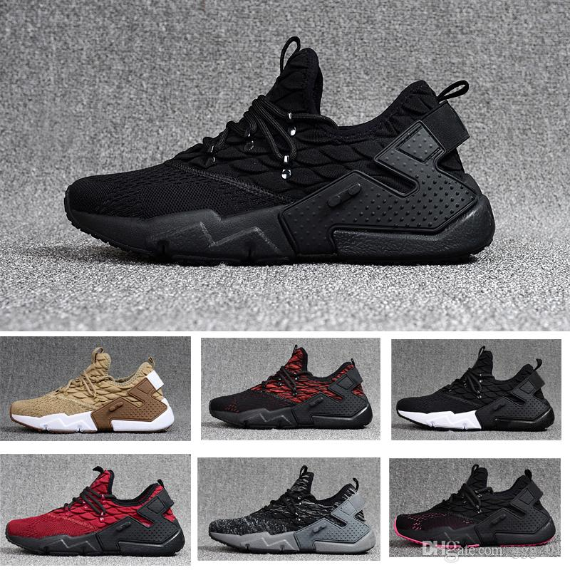 2018 Hot Selling Huarache 6 3d Flight Knit Flyline Breathe Fashion Sneaker  High Quality Men S Running Sport Shoes Size US7 US11 Stability Running  Shoes ... 38180304c33c4