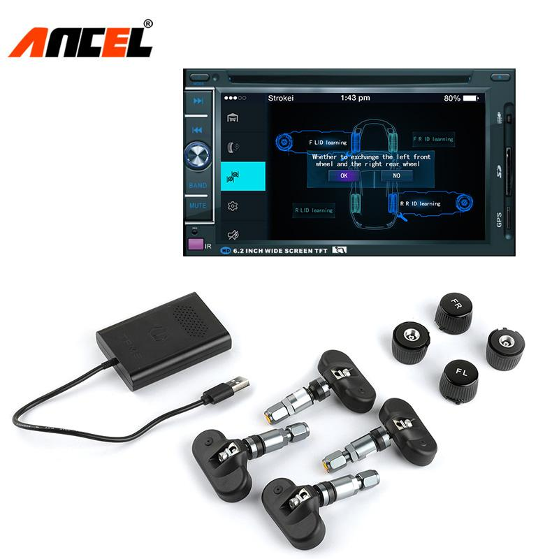 Tire Pressure Monitoring System >> 2019 Tpms Car Tire Pressure Monitoring System For Android Dvd Player