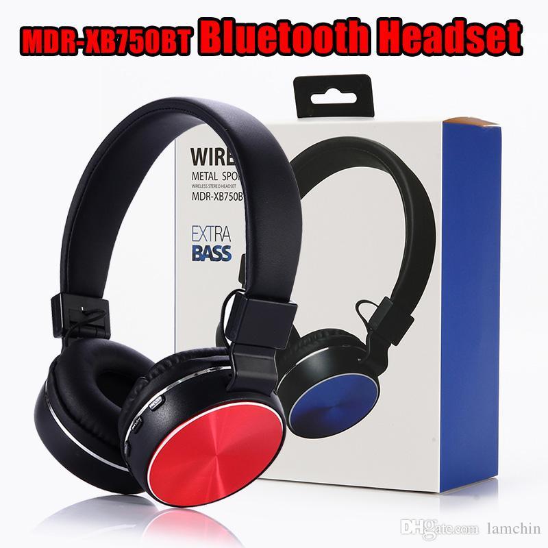 MDR-XB750BT Casque Bluetooth Écouteurs mains