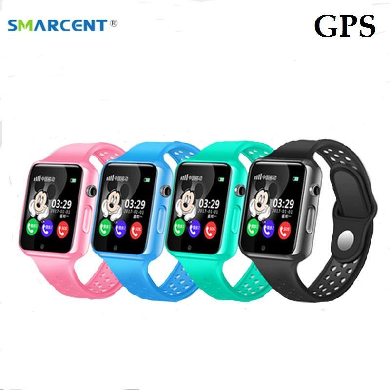 102086bf0191 Relojes Ice G98 GPS Reloj Inteligente Para Niños Con Cámara Podómetro Reloj  De Pulsera Resistente Al Agua SOS Anti Perdida Pantalla Táctil Reloj Para  Niños ...