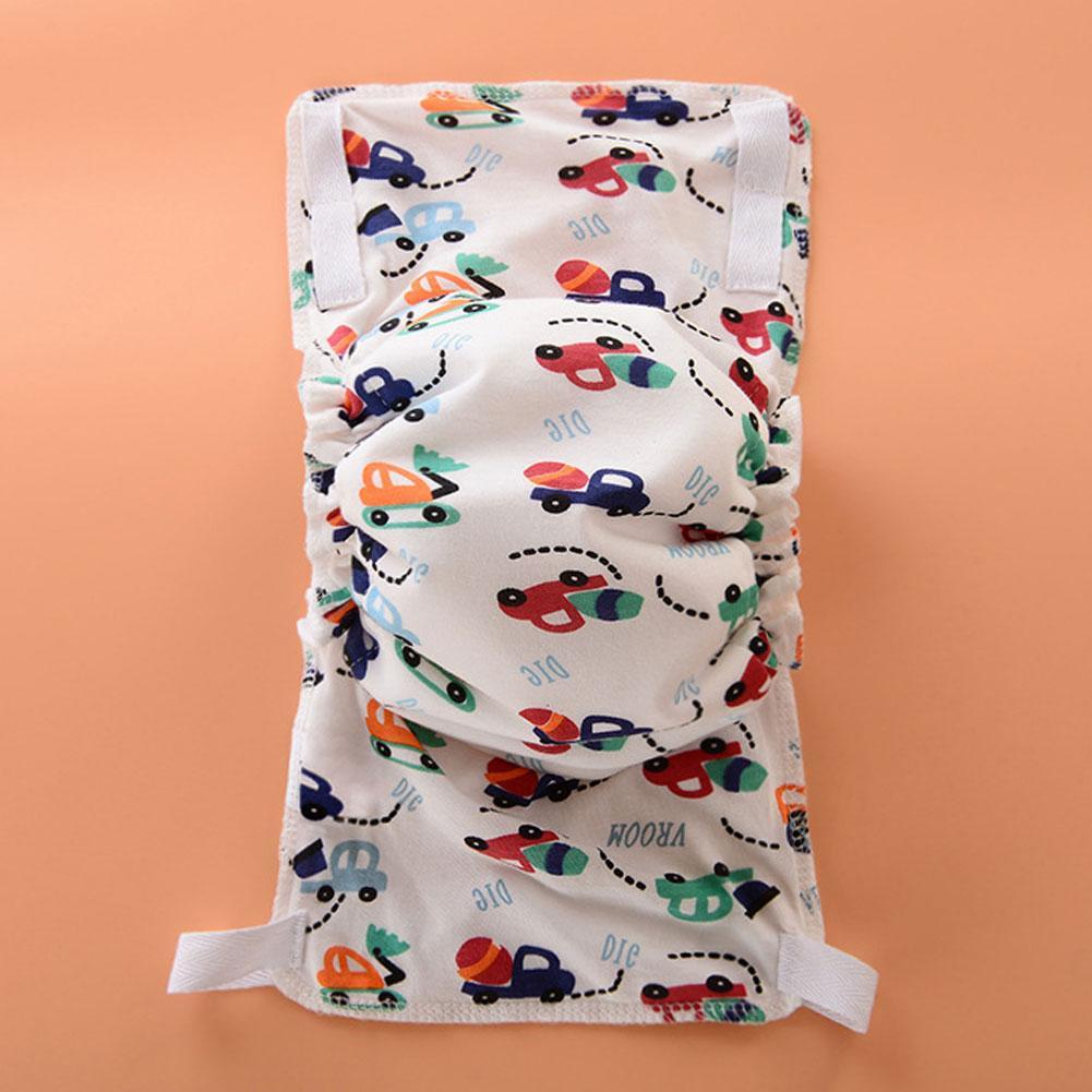 Милый мультфильм Ленты Ткань подгузники детские младенцы дети дышащий хлопок пеленки высокое качество моющиеся мягкие подгузники