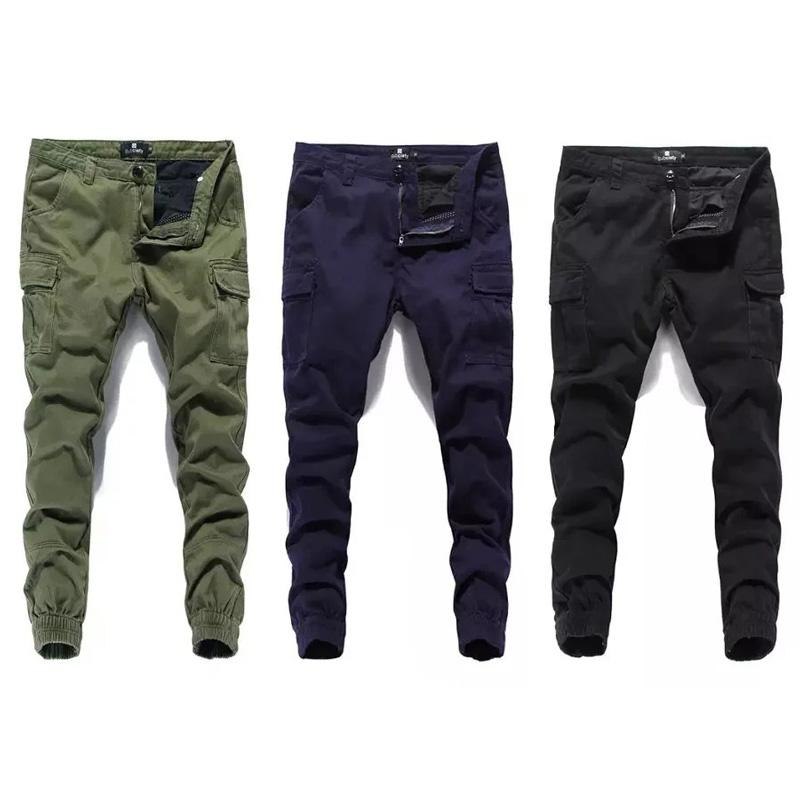 eba4ad2bb0238 2019 Fashion Classical Men Jeans Jogger Pants Street Denim Cotton Cropped  Pants Ankle Banded Army Brand Jeans Men Cargo From Smotthwatch