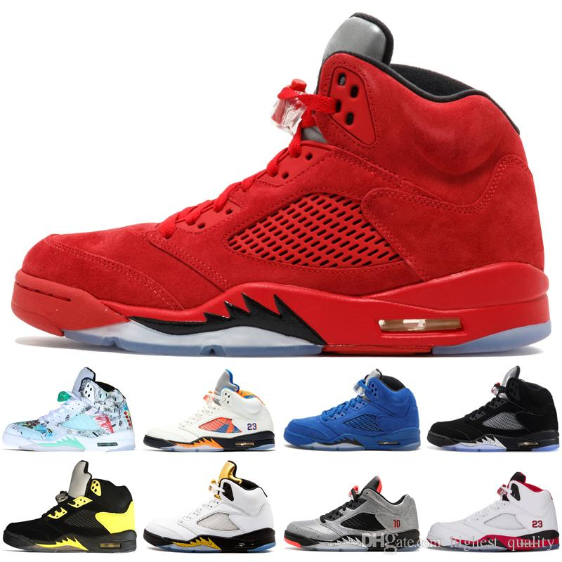 huge selection of d4715 b436d inexpensive air jordan 3 retro sport 99fd5 05b9d  czech new 5 5s wings  international flight mens basketball shoes olympic gold medal fire red blue