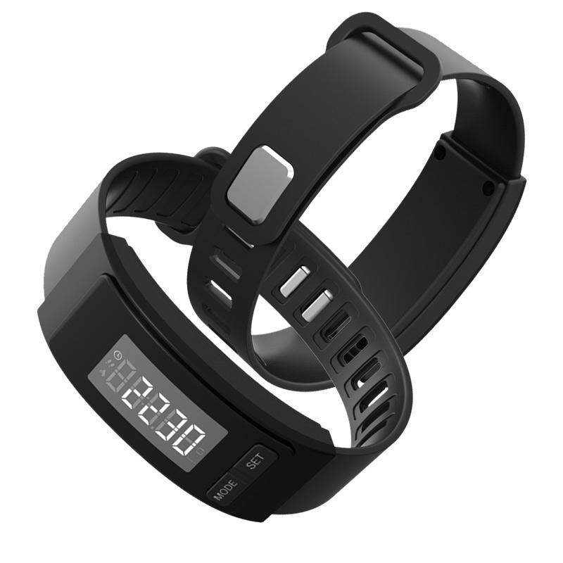 Männer Und Frauen Schrittzähler Lcd Multifunktionale Elektronische Uhr Armband Schritt Entfernung Kalorienzähler Sport Pedometer Fitnessgeräte Schrittzähler