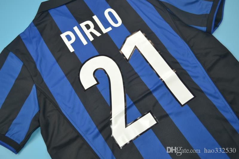 purchase cheap 7e535 dd347 1998 99 inter home retro jerseys ronaldo baggio Recoba Zamorano Zanetti  Simeone Sousa Kanu Bergomi Pilro vantage CLASSIC jersey