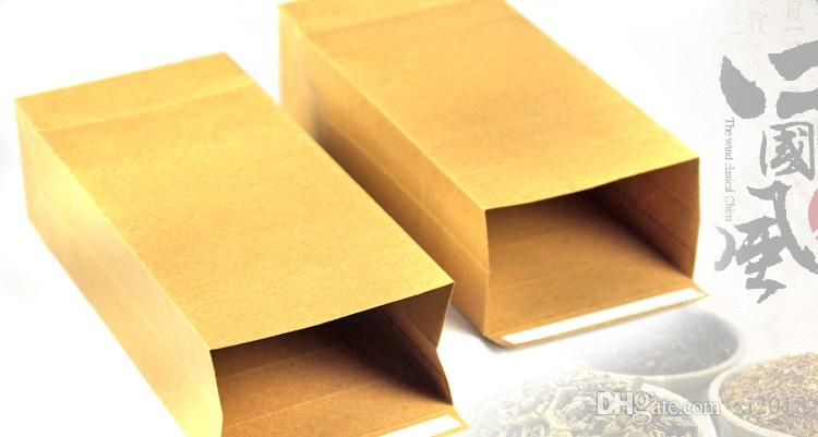 10*23.5*5cm Kraft Paper Stand Up Gift Bag with Square Window Nuts/Tea/Cake/Cookies/Coffee Packaging Bags wen6594