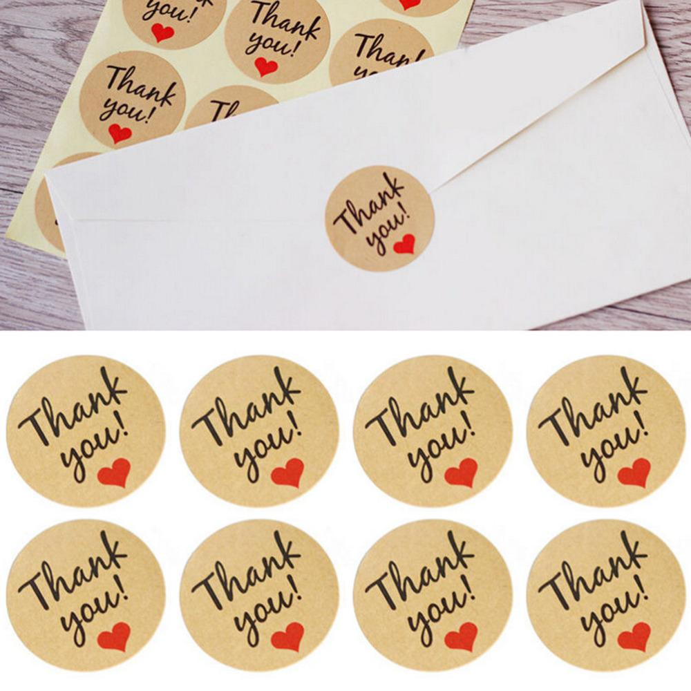 Kraft Paper Thank You Gift Tags Wedding Favors Party Accessories ...