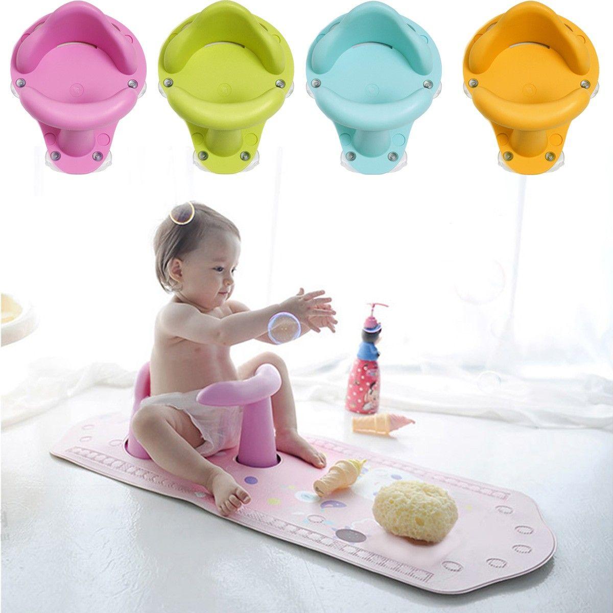 2018 Nonslip Baby Infant Kids Toddler Bath Seat Ring Safety Comfort ...