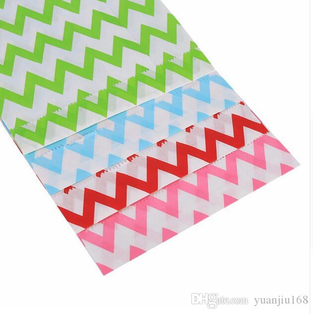 Wedding Gifts For Guests Gift Stripe Paper Bag Candy Box Wedding Gift Packaging Supplies Snack Food Favors And Gifts GA50