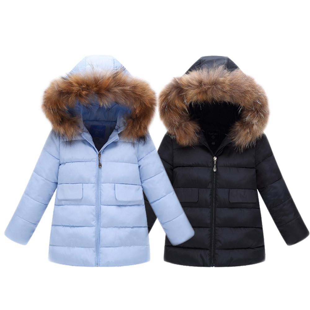 7e0edf8c2 Down Jacket For A Boy Girls Fashion Kids Coat Boys Girls Thick Coat ...