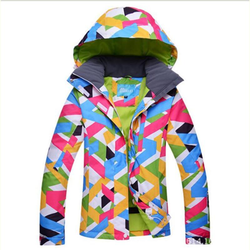 1f9441274d Winter Women Waterproof Windproof Snow Skiing Jackets Snowboard ...