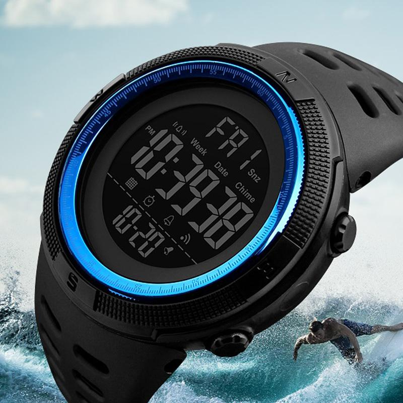 Fashion Digital Watch Wrist Sport Watches Men Waterproof Reloj Deportivo electronic Wristwatches Relogio Militar Masculino Saat