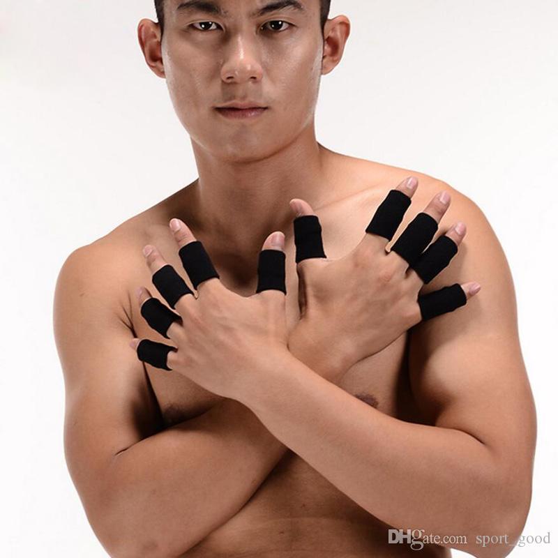 / Professional Segurança Sports Elastic estiramento apoio para o punho Nylon Dedo Protector Basquetebol Voleibol respirável proteção do dedo