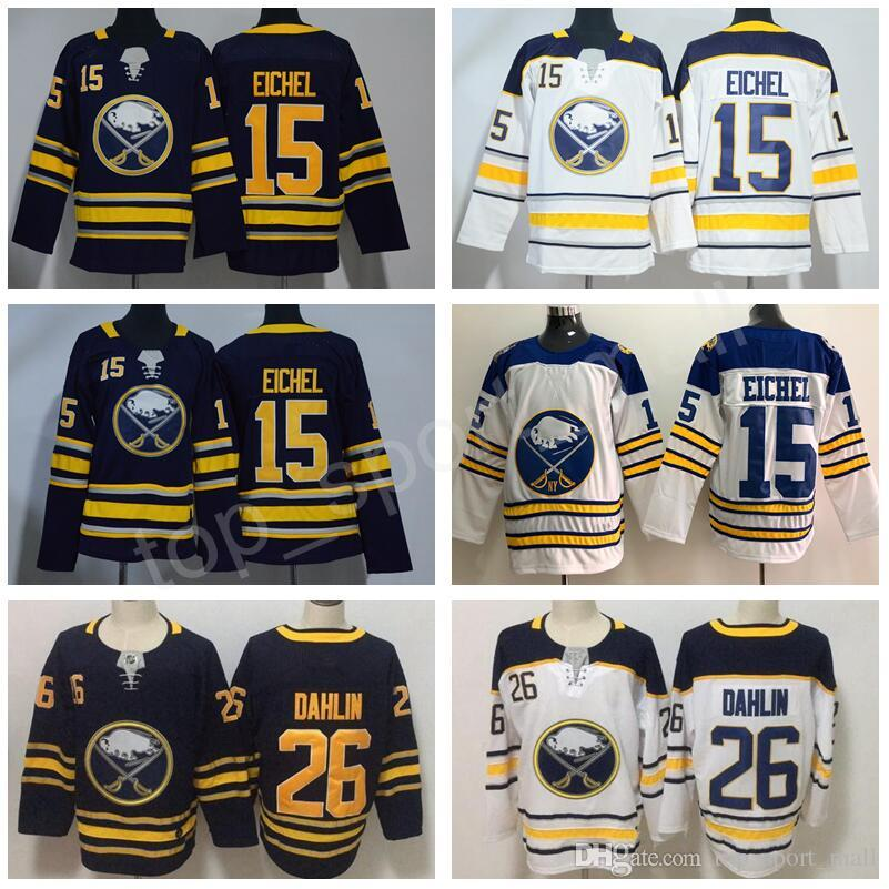 new concept eacc6 b9ed2 Men Youth Buffalo Sabres 26 Rasmus Dahlin Jerseys 15 Jack Eichel 2018  Winter Classic Hockey 21 Kyle Okposo 23 Sam Reinhart Man Women Kid