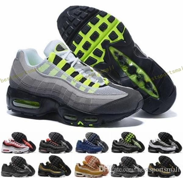 db75c1ba99 2018 Brand 95 Ultra 20th Anniversary 95s OG Men Running Shoes Sports Mens  Trainers Tennis Sneakers Air Size 40 46 Best Trail Running Shoes Mens Trail  ...