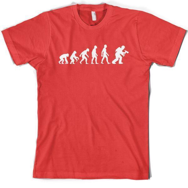 e6e9cb6d8 Evolution Of Man Firefighter Mens T Shirt / Fireman 10 Colours S XXL Funny  It Shirts Ridiculous Shirts From Lijian046, $12.08| DHgate.Com