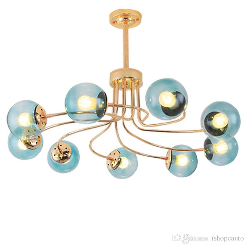 Lights & Lighting Ceiling Lights & Fans Modern Simple Colors Ceiling Fan Lamp Macaron Kids Room Living Room Led Iron Art Fan Lamp Colorful Fan Leaves Deco Pendant Lamp