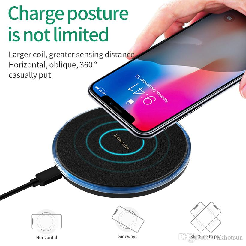 Battery Protect Ultra-Thin Aluminium alloy Quick Charger for i phone /& Samsung
