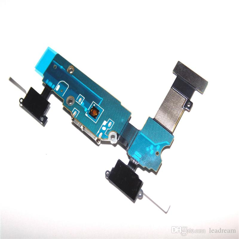 Cell Phone Flex Cables OEM Charging Charger Dock Port USB Flex Cable For Samsung Galaxy S5 G900A G900V G900P G900F free DHL